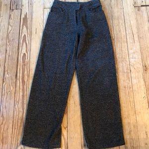J. Jill Size 4 Pants Dark Brown Tweed